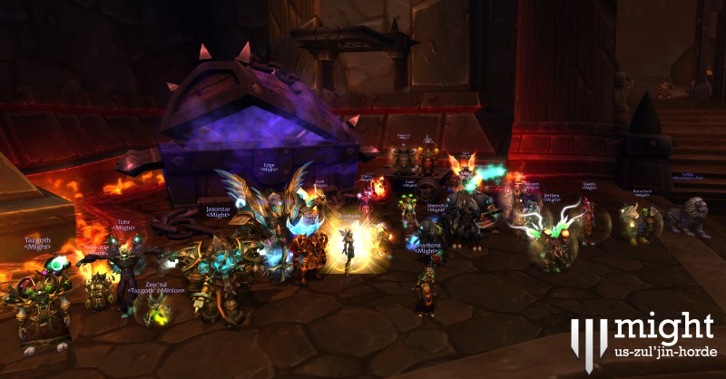 Might - Heroic Paragons of the Klaxxi - US 37th 25man