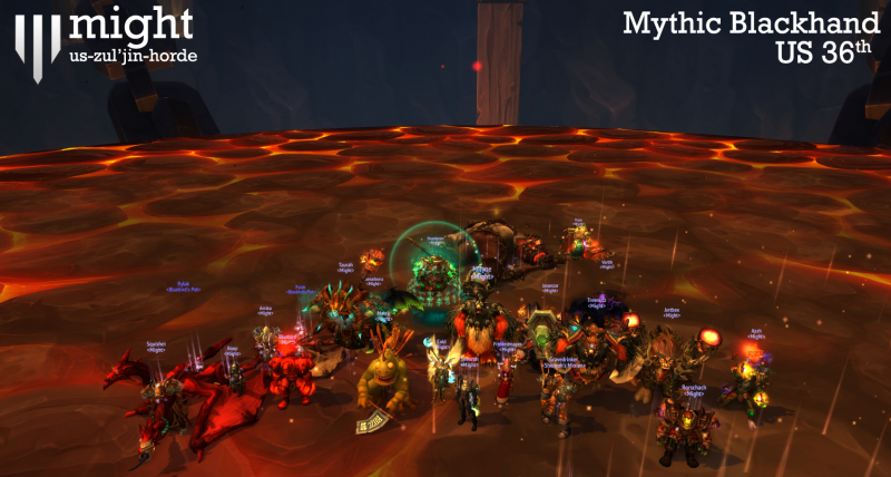 Might - Mythic Blackhand - US 36