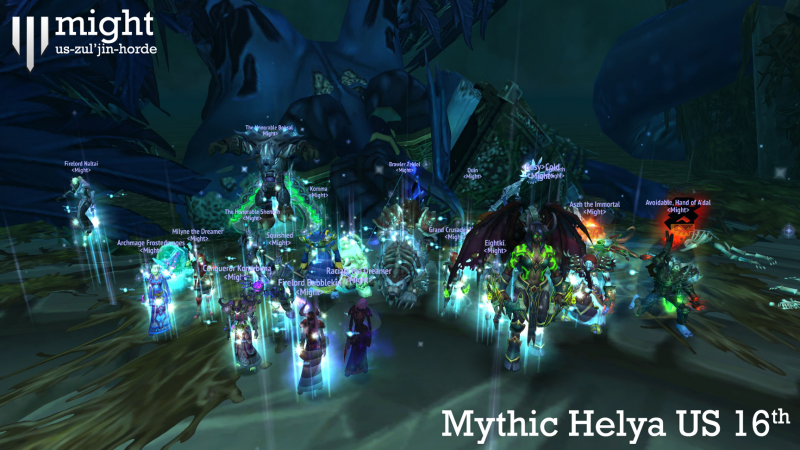 Might Zul'jin Mythic Helya US 16th