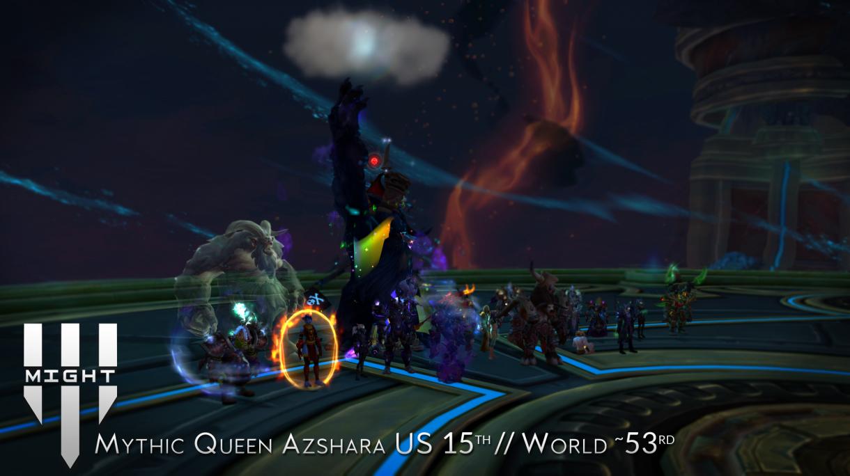 Mythic Queen Azshara