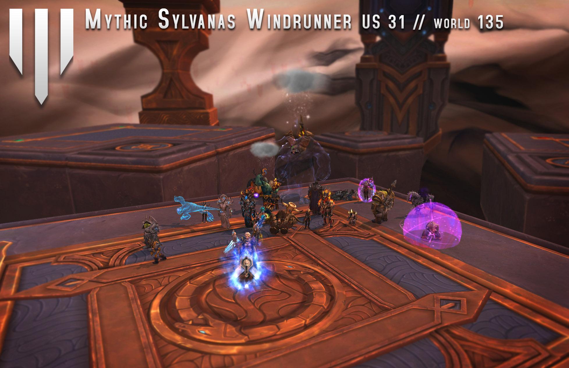 Might Mythic Sylvanas Windrunner